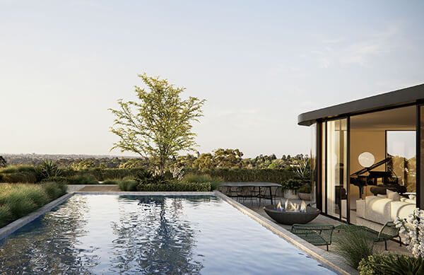 Luxury off-the-plan penthouse in Melbourne's Kew smashes sales record